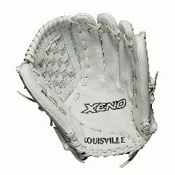 d glove Closed weave web Memory foam wrist lining White and Aqua blue Female-specific pat