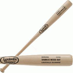 from Louisville Slugger are made to sound, look, perform and feel like a wood baseball bat. Bamboo
