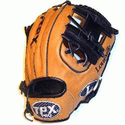 er 11.25 Baseball glove made in Mexico. Super stiff leather that will