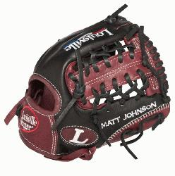 Slugger EV1150 Evolution Series 11.5 Baseball Glove Left Handed Throw Handcrafted from premi
