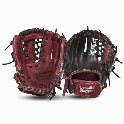 ille Slugger EV1150 Evolution Series 11.5 Baseball Glove Left Handed Throw Handcr