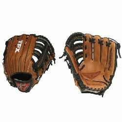 ville Slugger LEFT HAND THROW 12.75 LEFT HAND THROW Pro Flare Series Baseball Glove. 12 34 I