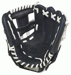ville Slugger HD9 11.25 inch Baseball Glove (Navy, Right Hand Throw) : The HD