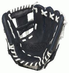 Louisville Slugger HD9 11.25 inch Baseball Glove (Navy, Right Hand T