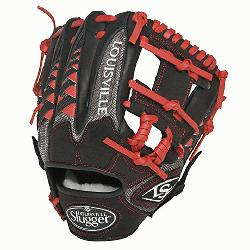 ville Slugger HD9 11.25 inch Baseball Glove (Scarlet, Right Hand Throw) : The HD9