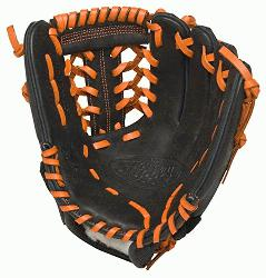 ouisville Slugger HD9 11.5 inch Baseball Glove (Orange, Left Hand Throw) : The HD9 Series