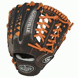 Slugger HD9 11.5 inch Baseball Glove (Orange, Left Hand Throw) : The HD9 Series is built with