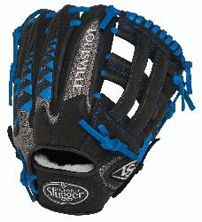 ille Slugger HD9 11.5 inch Baseball Glove (Royal, Left Hand Throw) :