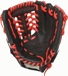 ger HD9 11.5 inch Baseball Glove (Scarlet, Left Hand Throw) : The HD9 Series