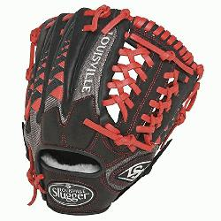 ouisville Slugger HD9 11.5 inch Baseball Glove (Scarlet, Right Hand Throw) : The HD9 Series is buil