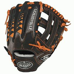 ille Slugger HD9 11.75 inch Baseball Glove (Orange, Right Hand Throw) : The HD9 Series is buil