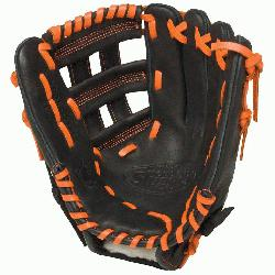 ouisville Slugger HD9 11.75 inch Baseball Glove (Orange, Right Hand Throw) : The