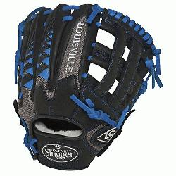 isville Slugger HD9 11.75 inch Baseball Glove (Royal, Right Hand Throw) : The HD9 S