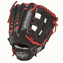 ille Slugger HD9 11.75 inch Baseball Glove (Scarlet, Right Hand Throw) : The HD9 Series is b