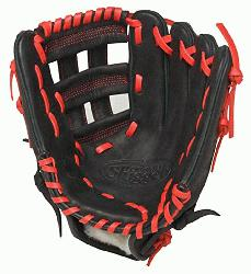 lle Slugger HD9 11.75 inch Baseball Glove (Scarlet, Right Hand Throw) : The HD9 Series is built