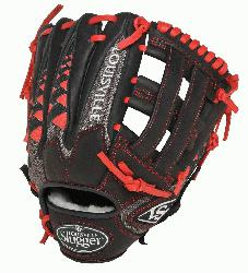 lle Slugger HD9 11.75 inch Baseball Glove (Scarlet, Right Hand Throw) : The HD9