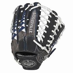 Slugger HD9 12.75 inch Baseball Glove (Navy, Right Hand Throw) : L