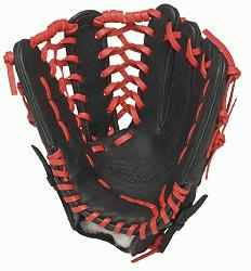 ugger HD9 12.75 inch Baseball Glove (Orange, Right Hand Throw) : Louisville Slugger HD9 12.75 inch