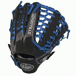 ville Slugger HD9 12.75 inch Baseball Glove (Royal, Right Hand Throw) : Louisvill