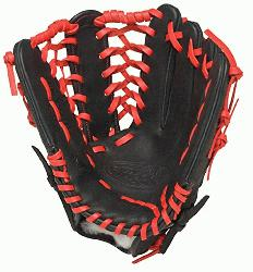 ville Slugger HD9 12.75 inch Baseball Glove (Scarlet, Right Hand Throw) : Louisville Slugger H