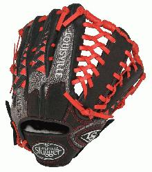 lugger HD9 12.75 inch Baseball Glove (Scarlet, Right Hand Throw) : Louisville Slugger HD