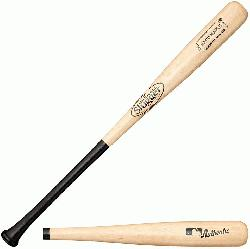 lle Slugger Hard Maple Wood Baseball Bat Turning model I13 is swung by Eva