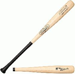 lle Slugger Hard Maple Wood Basebal