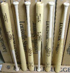 ger MLB Select Ash Wood Baseball Bat. P72 Turning Model. Flame Tempered Finish. Natural Color. C