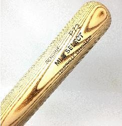 ger MLB Select Ash Wood Baseball Bat. P72 Turning Mode