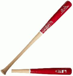e Slugger MLB Prime Birch C271 Wine Natural Wood Baseball Bat (3