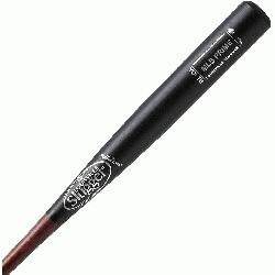 Slugger MLB Prime Maple Youth Wood Bat Black Hornsby. Cupped. Maple