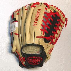isville Slugger Omaha Pro series brings together premium shell leather with softer lini
