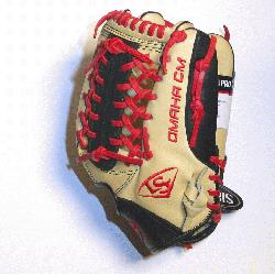 e Louisville Slugger Omaha Pro series brings together premium shell leather with softer lin