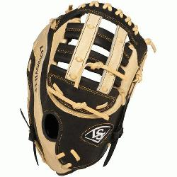 ger Omaha Flare series baseball glove combines Louisville Slugger\x iconic Flare design