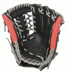 Omaha Flare 11.5 inch Baseball Glove (Left Handed Throw) : The Omaha Flare Series combin