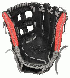 sville Slugger Omaha Flare Baseball Glove 11.75 inch with Game Ready Performance Leath