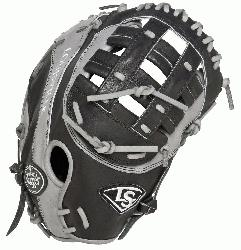 e Slugger Omaha Flare First Base Mitt 13 inch (Right Handed Throw) : Louisville Slu