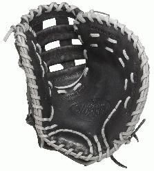 r Omaha Flare First Base Mitt 13 inch (Right Handed Throw) : Lou