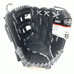 .5 infield WTLOMRB17115 Dual post web pattern Soft full-grain Steerhide leather Designed with the