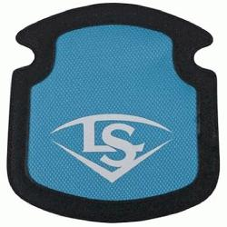 uisville Slugger Players Bag Personalization Panel (Columbia Blue) : Louisville