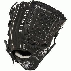 Pro Flare Black 12 inch Baseball Glove (Left Handed Throw) : Louis