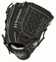 ouisville Slugger Pro Flare Black 12 inch Baseball Glove (Right Handed Throw) : Louisvill