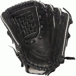 isville Slugger Pro Flare Black 12 inch Baseball Glove (Right Handed Throw) : Louis