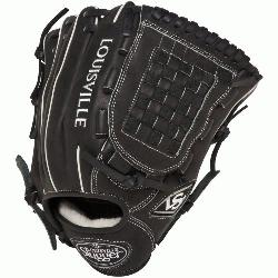 Pro Flare Black 12 inch Baseball Glove (Right Handed Throw) : Louisville S