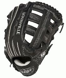 uisville Slugger Pro Flare Black 12.75 in Baseball Glove (Right H