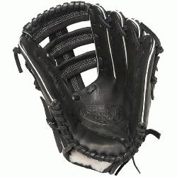 ger Pro Flare Black 12.75 in Baseball Glove (Right Handed Throw) : Louisville Slugger Pro Flare