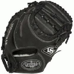 e Slugger Pro Flare Black 32.5 inch Catchers Mitt (Right Hand