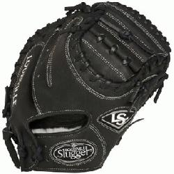 Slugger Pro Flare Black 32.5 inch Catchers Mitt (Right Handed Throw) : Louisville Slugger Pro Flare