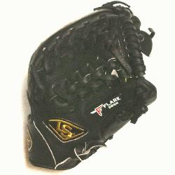 nd Open Back. Gold Stitching. Louisville Slugger Pro Flare Baseball Glove 11.75 inches. T