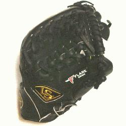 ied Trap Web and Open Back. Gold Stitching. Louisville Slugger Pro Flare Baseball